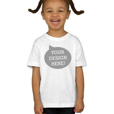 Fine Jersey Toddler T-Shirt Thumbnail