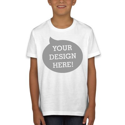 Youth Short Sleeve Crewneck Jersey Tee Thumbnail