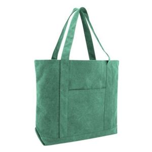 Pigment Dyed Premium 12oz. Canvas XL Boater Tote Thumbnail