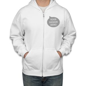 Heavy Blend Full-Zip Hooded Sweatshirt Thumbnail